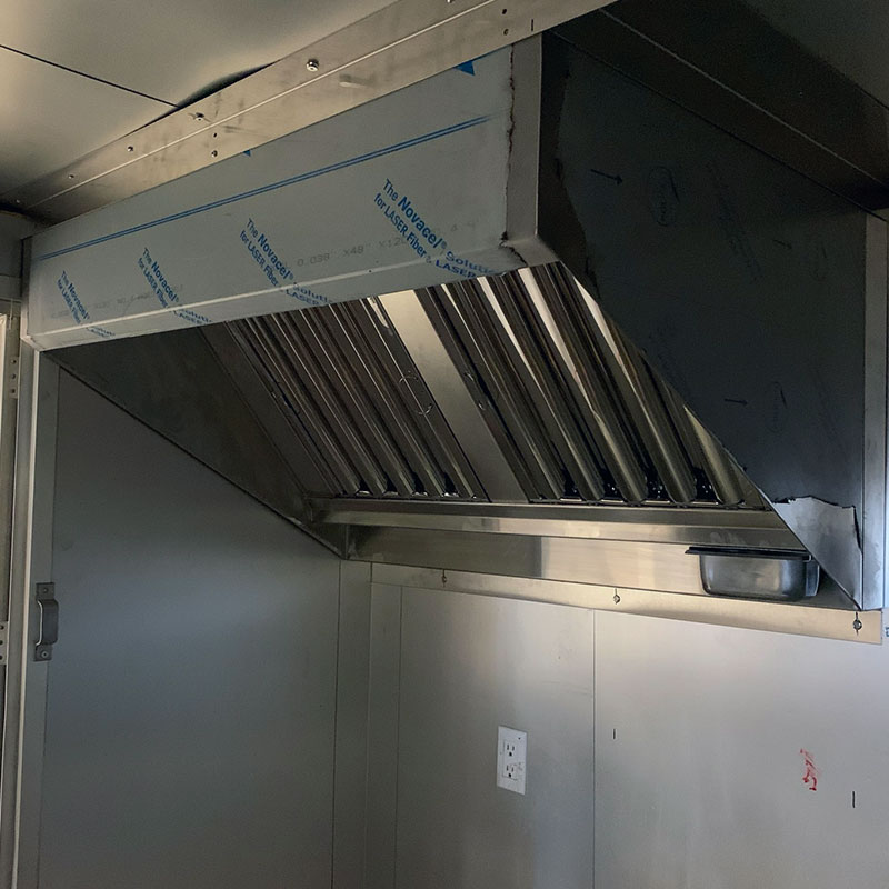 FOOD TRUCK RANGEHOOD